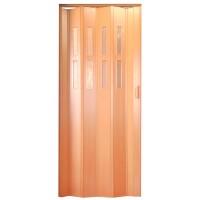 Usa de interior plianta Italbox, furnir cires, 203 x 85 cm + geam Niagara din plastic