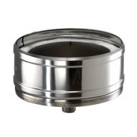 Element baza + colector inox ICS Eco 25, pentru colectare si evacuare condens cos fum, D 200 mm