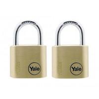 Lacat alama solida Yale Y110/30/117/2, 30 mm, 2 buc