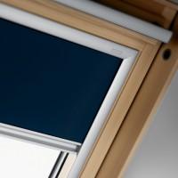 Rulou interior opac fereastra mansarda Velux DKL M04 1100, bleumarin, 98 x 78 cm