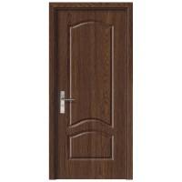 Usa de interior din lemn, SuperDoor F04-88-S, stanga / dreapta, stejar inchis, 203 x 88 cm