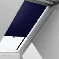 Rulou interior perdea fereastra mansarda Velux RHL F00 9050, bleumarin