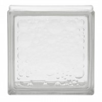 Caramida sticla Water Bubble, interior / exterior, 19 x 19 x 8 cm