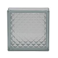 Caramida sticla Lattice, interior / exterior, 19 x 19 x 8 cm