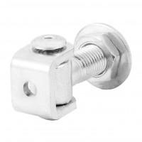 Pivot sudabil pentru porti batante, reglabil, otel, 20 x 90 mm