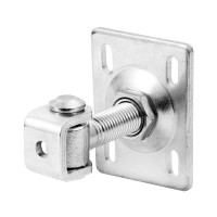 Pivot sudabil pentru porti batante, reglabil, cu placa, otel, 20 x 90 mm
