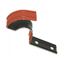 Element de fixare pentru coama presata, Tondach, din aluminiu, rosu