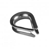 Rodanta usoara, din otel zincat, pentru cablu de otel de 4 mm