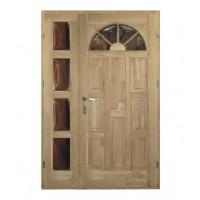 Usa intrare din lemn, Napsugar, stejar, dreapta, 138 x 208 cm
