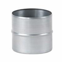 Mufa tabla galvanizata, pentru legatura tuburilor flexibile, D 140 mm