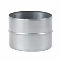 Mufa tabla galvanizata, pentru legatura tuburilor flexibile, D 180 mm
