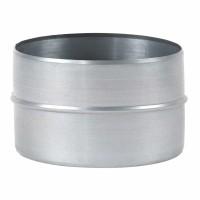 Mufa tabla galvanizata, pentru legatura tuburilor flexibile, D 200 mm