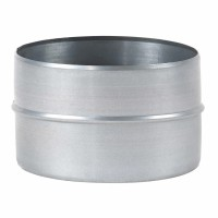 Mufa tabla galvanizata, pentru legatura tuburilor flexibile, D 220 mm
