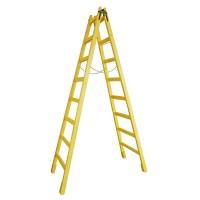 Scara lemn pentru zugrav, 8 trepte, 290 cm