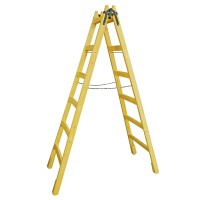 Scara lemn pentru zugrav, 6 trepte, 219 cm