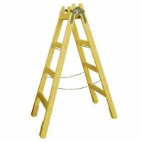 Scara lemn pentru zugrav, 4 trepte, 150 cm