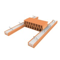Grinda planseu Porotherm 2,50 m