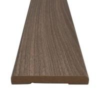 Pervaz pentru usa interior, rotunjit, gri, 8 x 60 mm, set 3 bucati