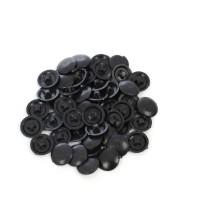 Capac plastic, pentru mascare suruburi mobila, PZ2, negru, set 50 bucati
