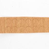 Capac autoadeziv, pentru mascare suruburi mobila, 9 mm, fag, set 12 bucati