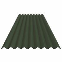 Placa ondulata Guttapral K9, verde
