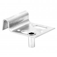 Opritor aplicat pentru porti batante, cu suport zavor, 140 x 100 mm