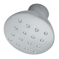 Buton pentru mobila, metalic, crom satinat, 28 x 24 mm