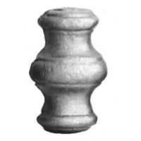 Element fier forjat pafta ART 128/8, 65 x 40 mm