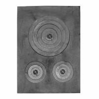 Plita fonta, fara rama, 650 x 470 mm
