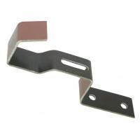Element de fixare pentru coama trasa, Tondach, din aluminiu, natur