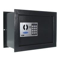 Seif perete Rottner Wallmatic1 T03084, electronic cu 2 bolturi, din metal, antracit, 380 x 195 x 285 mm