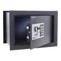Seif perete Rottner Wallmatic2 T03137, electronic cu 2 bolturi, din metal, antracit, 380 x 260 x 280 mm