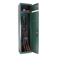 Dulap arme Gun5 T04269, 2 usi, metal, verde, 370 x 260 x 1500 mm