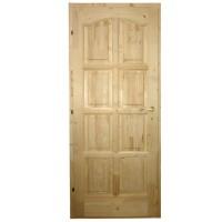 Usa de interior din lemn, Kobezol Bibor, stanga, natur, 68 x 205 cm