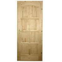 Usa de interior din lemn, Kobezol Bibor, dreapta, natur, 68 x 205 cm