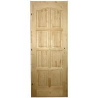 Usa de interior din lemn, Kobezol Bibor, stanga, natur, 78 x 205 cm