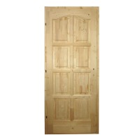 Usa de interior din lemn, Kobezol Bibor, stanga, natur, 88 x 205 cm