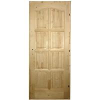 Usa de interior din lemn, Kobezol Bibor, dreapta, natur, 88 x 205 cm