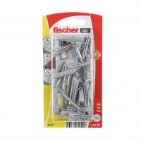 Diblu universal din nylon, cu surub, Fischer S 6 S, 6 x 30 mm, set 15 bucati