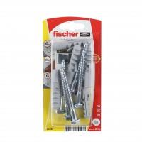 Diblu universal din nylon, cu surub cu cap hexagonal, Fischer S 10 S, 10 x 50 mm, set 5 bucati
