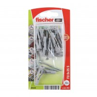 Diblu universal din nylon, cu surub, Fischer FU 6, 6 x 35 mm, set 10 bucati