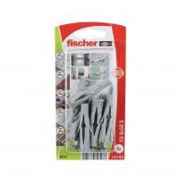 Diblu universal din nylon, cu surub, Fischer FU 8, 8 x 50 mm, set 6 bucati