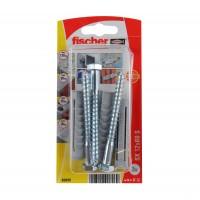 Diblu universal, din nylon, cu surub, cap hexagonal, Fischer UX, 12 x 60 mm, set 3 bucati