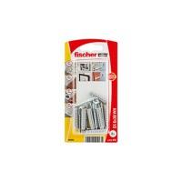 Diblu universal din nylon, cu surub in vinclu, Fischer SX, 6 x 30 mm, 6 bucati