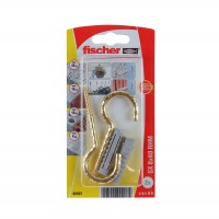 Diblu universal din nylon, cu carlig ochi deschis, auriu, Fischer SX, 8 x 40 mm, set 2 bucati
