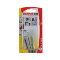 Diblu universal din nylon, cu carlig in vinclu, Fischer SB, 8 x 40 mm, set 2 bucati
