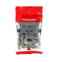 Diblu universal din plastic, Friulsider TU, 8 x 40 mm, set 20 bucati