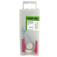 Set montaj oglinda, Easy-Fix MNL0670, alb