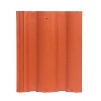 Tigla de beton 1/1 Bramac Romana P5, rosu caramiziu