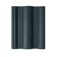 Tigla de beton 1/1 Bramac Romana P5, antracit briliant